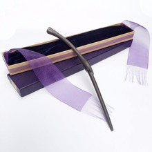 New Arrive Metal/Iron Core Bellatrix Lestrange Magic Wand/ Harry Potter Magical Wand/ Elegant Ribbon Gift Box Packing(China)