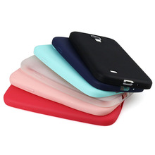 I9500 Solid Candy Color TPU Rubber Case Cover for Samsung Galaxy S4 Silicon Case Glossy Back Cover for Samsung S4 Skin