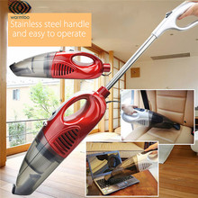 1200W EU Plug 220V 2 in 1 Lightweight Handheld Upright Bagless Home Vehicle Trunk Car Vacuum Cleaner Kit Cleaning Supplies(China)
