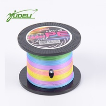 YUDELI Fishing lines 1000M Braided wire 8 strands line braiding 5 kinds of color Dyneema FIshing line FIshing gear(China)