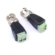 2pcs Coax CAT5 BNC Video Balun Connector for Security Camera System CCTV System Accessories