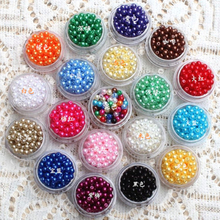 Hot 8mm 100pcs Mixed ABS Acrylic imitate Pearl Spacer Ball Round Plastic Beads Spacer Beads Jewelry DIY