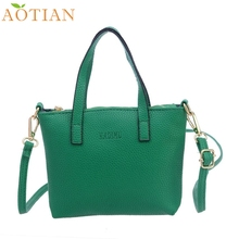 AOTIAN  Women Fashion Handbag Shoulder Bag Large Tote Ladies Purse  drop ship