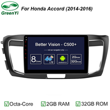 "Android 6.0 10.1"" Octa Core Car DVD Multimedia Player Radio For Honda Accord 9th 2012-2016 GPS Navigation 4G WIFI DAB RDS USB(China)"