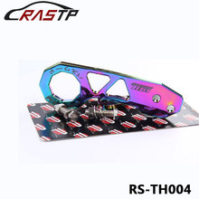 Neo Chrome Passward JDM Rear Tow Hook Fit For Honda Civic Integra RSX With Logo RS-TH004()