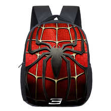 Comics Hero Spiderman Backpack Children Super Hero spider Man School Backpacks Boys Cartoon Superman Kids Students School Bags(China)