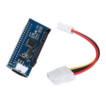 Reliable New  40-Pin IDE Female To SATA 7+15Pin 22-Pin Male adapter PATA TO SATA Card