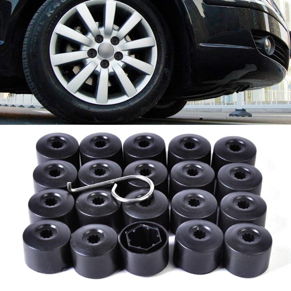 20Pcs Locking Lug Nut Covers /& Anti-theft Wheel Lug Nut Caps For VW PASSAT B6
