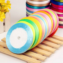 6mm Width sewing art braided hair ribbon bow ribbon wedding ribbon DIY -1 yard/pcs