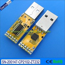 win8 win 10 android mac silcon cp2102 usb rs232 adapter module