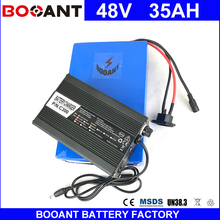 BOOANT 48V 35AH E-Bike Li-ion Battery For Bafang 1800W Motor Electric Bicycle Battery pack 48V EU US Free Customs +5A Charger(China)