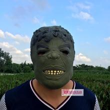 The Avengers and iron man Hulk Hulk Mask Halloween show bar nightclub horror props(China)