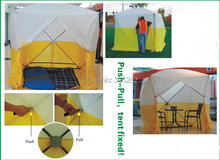 Factory OEM high quality construction tent Free shipping engineer pop up programme tents outside 180x180x200cm