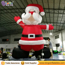 Free Delivery 5M high large Inflatable Santa Claus Replica outdoor decoration blow up old man model For Chrismas Day toys