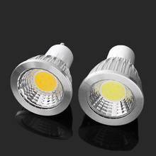 1PC Home Living Garden Energy Save GU10 COB LED Bulb Nature White LED Spotlight Super Bright LED Night Light Portable Lamp New(China)