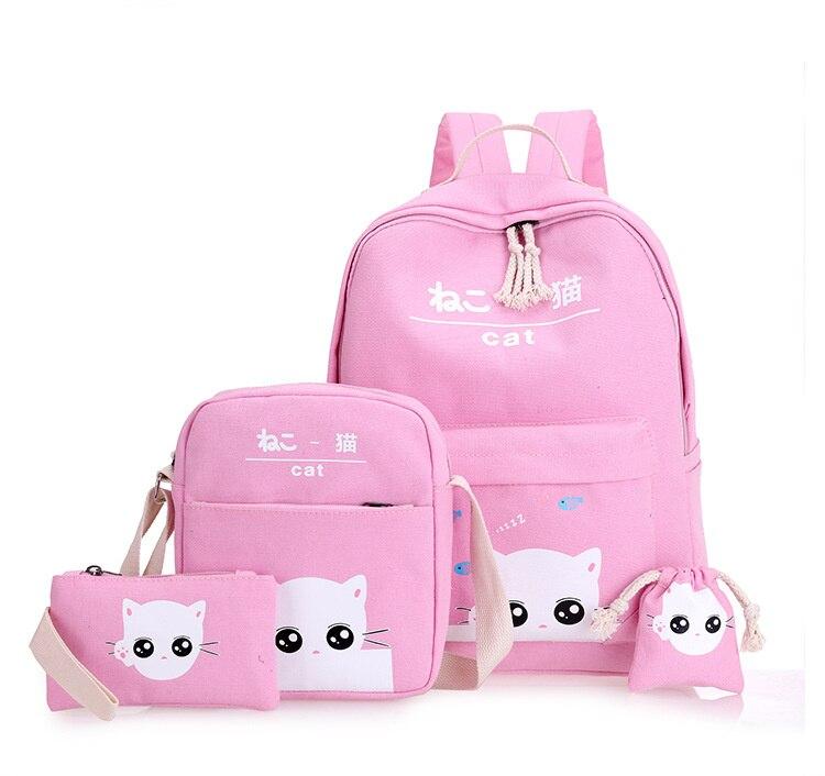 حقيبة الظهر للأطفال 4 قطع 2