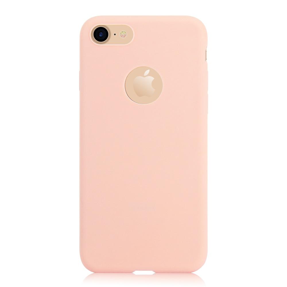 KIP71149F_1_Matte Pure Color Soft TPU Case for iPhone 7