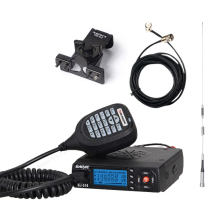 MINI Baojie BJ-218 Mobile Radio Mini Radio 136-174Mhz 400-480MHz Dual Band Mobile Transceiver Car Walkie Talkie CB Radio