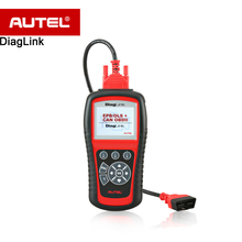 Original Autel Diaglink OBDII/EOBD Auto Diagnostic Code Reader Scanner Tool with OLS, EPB,ABS,Oil service(China)