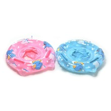 2017 Baby Swimming Neck Float Ring Inflatable Kids Neck Float Safety Product Beach Accessories Baby Swimming Pool Accessories(China)