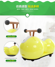 Cute Baby Swing Car Walker Without Foot Pedal Scooters Toddler Stroller Kids Toy Birthday Gift(China)
