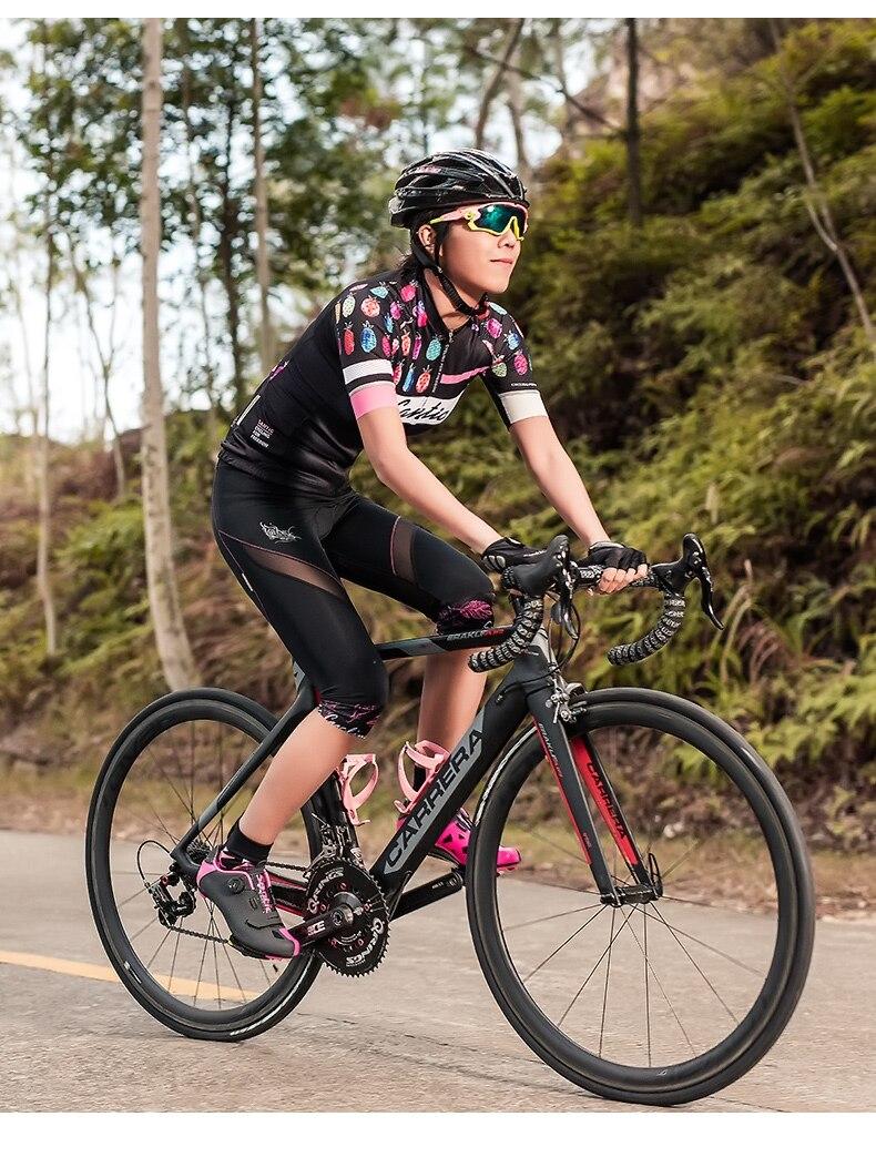 2018 Santic Cycling Shorts Women MTB Shorts Downhill Bike Shorts Bicycle Short Hollow Out Road Sport Cycling 34 Shorts Mesh (10)