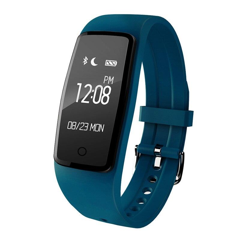 Smart Wristband S1 Watch Heart Rate Monitor Remote Bluetooth Smartband Bracelet Pedometer Fitness SmartBand Reminder
