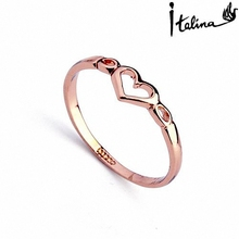 New Sale Brand TracysWing  Rings for Women  Genuine Austria Crystal  18KRGP gold Color   Fashion #RA10314Rose