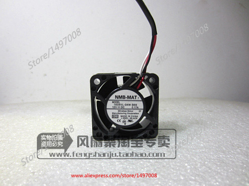 NMB-MAT 1608VL-04W-B69, BQ3 DC 12V 0.17A, 40x40x20mm   Server Square  fan<br>