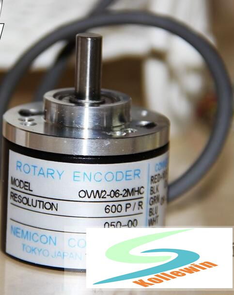 OVW2-06-2MHC NEW OVW2-06-2MHC rotary encoder / 600P / R 600 line economic encoder, new in box, Free Shipping.<br>