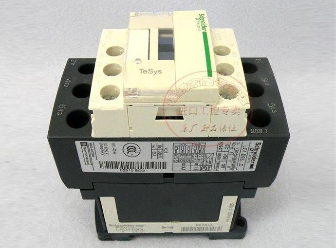TeSys D Contactor 3P 25A LC1D25 LC1D25ND LC1-D25ND 60V DC 60VDC<br>