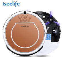 2017 ISEELIFE Wet Robot Vacuum Cleaner for Home 2 in1 PRO2S Mop Dry Wet Water Tank 800PA 2600mAH Li Auto Cleaning Smart ROBOT