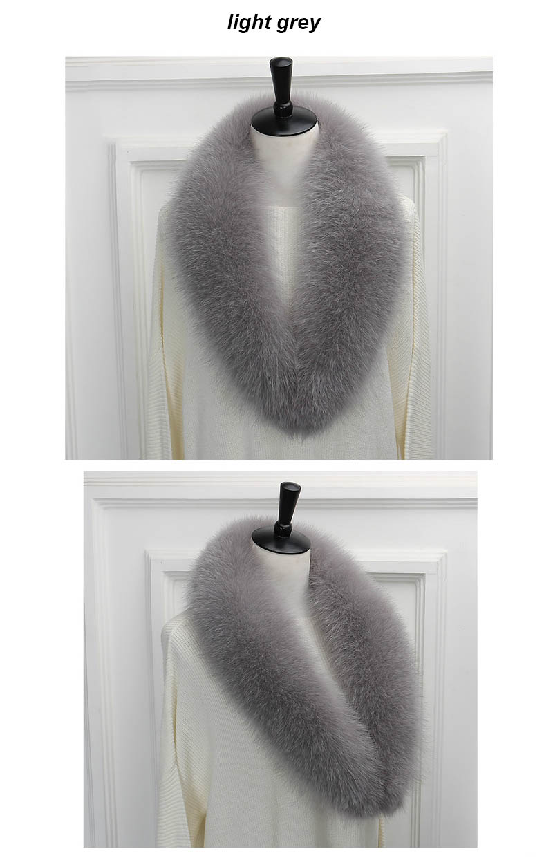 fox collar 110 light grey