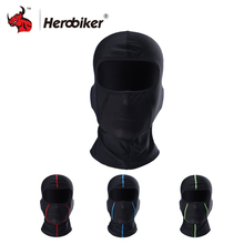 HEROBIKER Motorcycle Face Mask Balaclava Moto Bikers Mask Motorcycle Bicycle Face-shield Motorcycle Sun-protection(China)