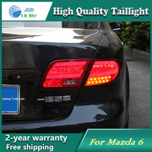 Car Styling Tail Lamp for Mazda6 Mazda 6 2004-2013 Tail Lights LED Tail Light Rear Lamp LED DRL+Brake+Park+Signal Stop Lamp(China)