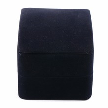 Luxury High Quality Royal Navy Black Velvet With Stand For Watch Bangle Jewelry Display Rectangle Package Case Gift Box / WTL011(China)