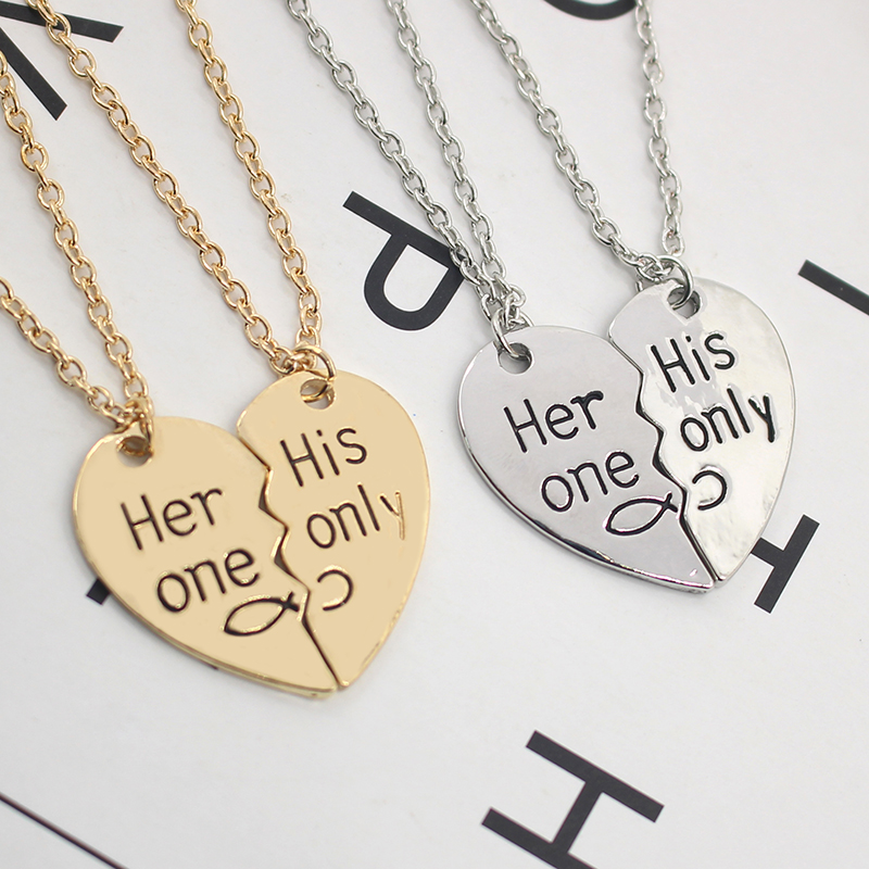 BFF Necklaces (several styles) golden silver her his