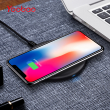 Yoobao Wireless Charger For iPhone X Fast Charge Universal QI Wirless Charger Pad For iPhone 8 Plus For Samsung Galaxy S8 Phone(China)