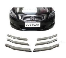 For Honda Accord 2008 09 10 11 12 Grill Grille Trim Cover Trim Car Styling Chromed Car-styling