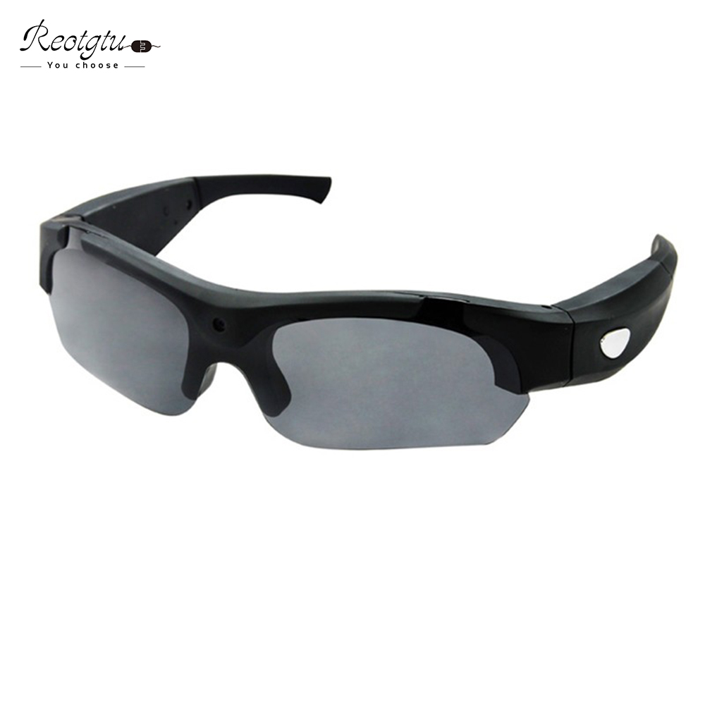 Mulitfunction intelligent smart glasses photo camera lenses HD1080P recording glasses sports DV Mini Camcorders glasses<br>