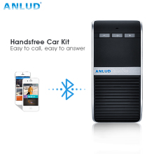 ANLUD Bluetooth Handsfree Car Kit Speakerphone Sun Visor Clip with Car Charger For iPhone Wireless Bluetooth Speaker Hands Free(China)