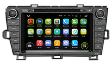 Quad Core Android 5.1.1 Car Radio DVD GPS For Toyota Prius 2009 2010 2011 2012 2013 Car Navigation System Stereo Audio+map