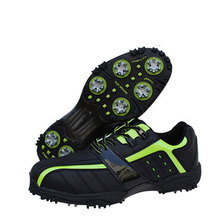 2016New Mens Golf Shoes Non Slip Golf Training Shoes Male Ultralight Breathable Mesh Sports Shoes Size