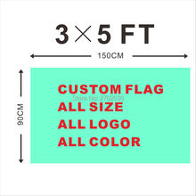 Design Custom Flag 150X90cm 3x5FT 100D Polyester All Logo Any Colors Banner Fans Sport Custom Flags Cubs Raider Cowboys 49ers