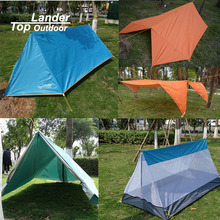 Toplander Floding Mosquito Net Tent Camping Outdoor Double Layer Ultralight Single Tents Tarp  Sun Shelter Multifunction Tents