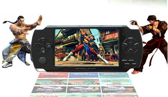 Free-Shipping-1pcs-4GB-4-3-inch-LCD-Screen-MP4-MP5-Players-Games-Console-Handheld-Game