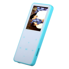 Sports mp3 player has screen lossless music can be inserted card recording display lyrics(China)