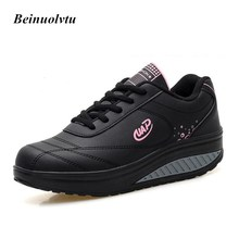 Beinuolvtu Trainers shoes women sneakers sports shoes girls running shoes Platform sneakers women shoes 35-40
