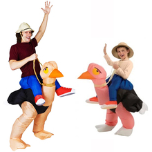 Inflatable Costumes For Adults Halloween Ollie Ostrich Costume Venice Carnival Inflatable Riding An Ostrich Costume