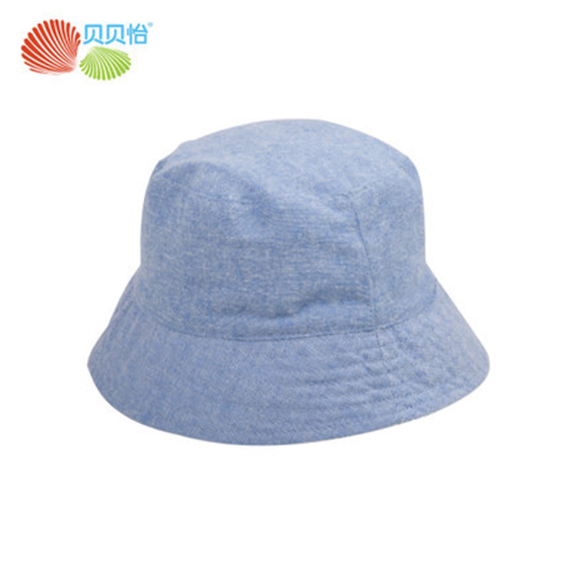 Baby Boys Girl Sun Hats 4 Season Caps Cotton Bucket Hat Baby Kids Checks Cap Dinosaur Patterns 1-7 Years Old Two Side Wear Hat(China)